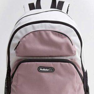 Hollister Logo Backpack (Light Pink)
